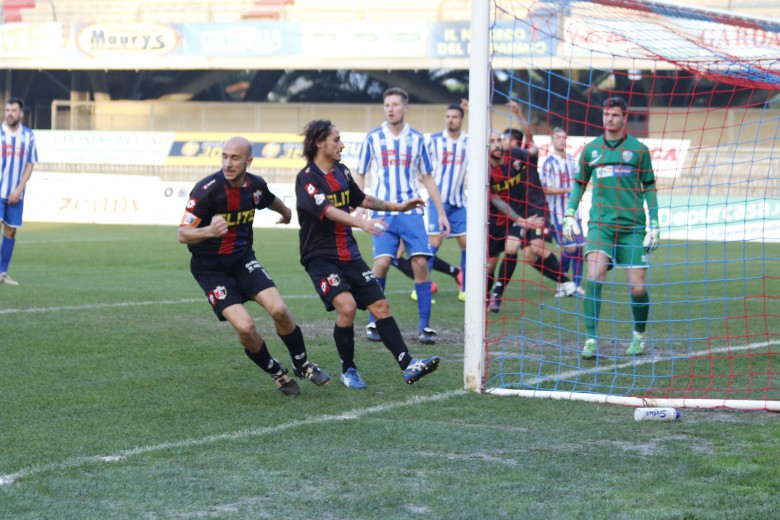 Samb- San Nicolò, il gol del capitano