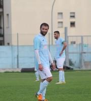 Mauro Travaglini si è sbloccato contro il Montegiorgio, foto Lara Facchini