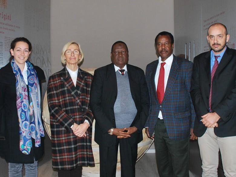 Visita del ministro della Somalia