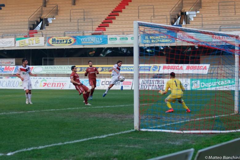 Samb-Agnonese 5-2, gran gol di Titone