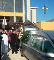 i funerali dei due marittimi morti in un terribile incidente a Martinsicuro