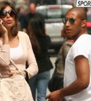 Reginaldo e Elisabetta Canalis nel 2008 (www..sportmediaset.mediaset.it)