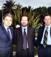 Scaltritti e Piunti. In mezzo l'ex sindaco Martinelli