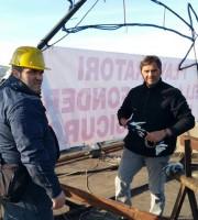 operai Veco di nuovo sul tetto