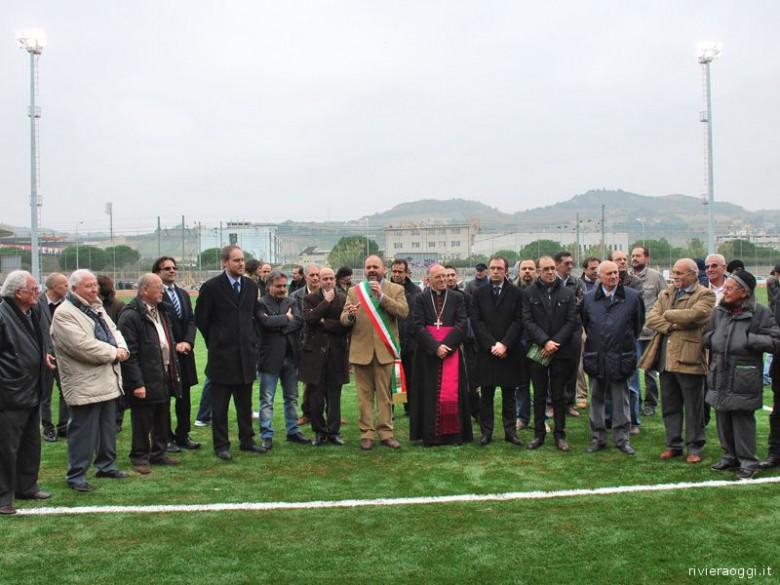 22 novembre 2009, inaugurazione nuovo prato sintetico al Campo Merlini