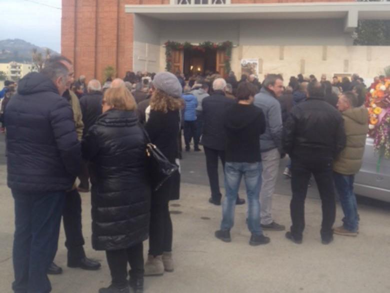 Funerali Domenico Mozzoni, 9 gennaio