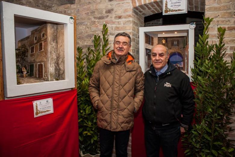 Gianni Rosati e Adriano Giacinti