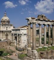 FORUM ROMAIN A ROME  ITALIE ITALY EUROPE   TOURISME ROMA  FORO ROMANO