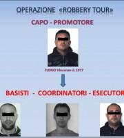 Operazione Robbery Tour dei carabinieri di Ascoli