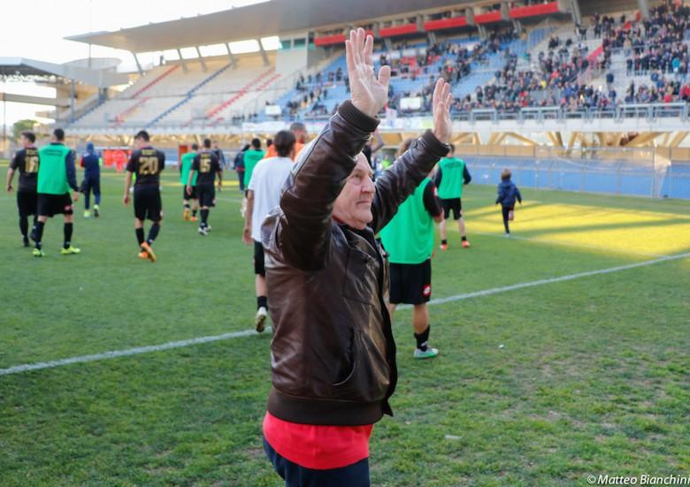 Samb-Vis Pesaro 2-0, il presidente Fedeli