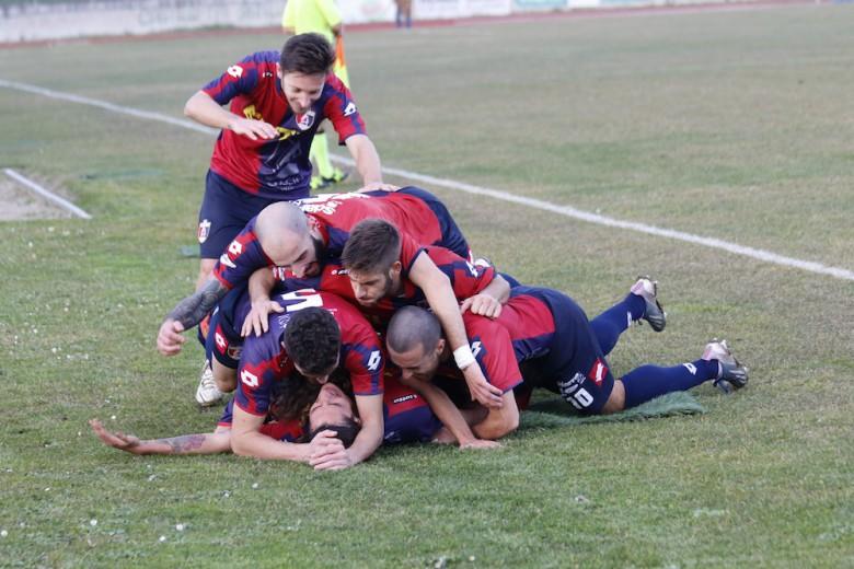 Castelfidardo-Samb 1-3, Titone festeggiato