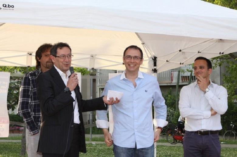 Tassotti, Piunti, Gabrielli, Formentini (foto dal profilo di Pasqualino Piunti)