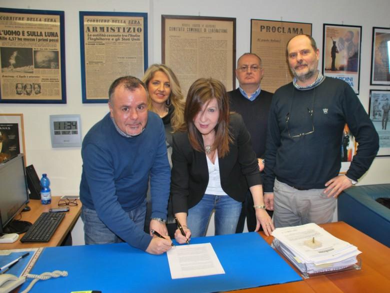 Firmato l'accordo
