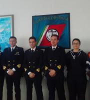Capitaneria di porto, al centro i comandanti Pappacena e Strusi