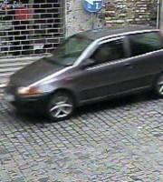 Il fotogramma della Punto, presubilmente della 56enne, rilasciato dai carabinieri