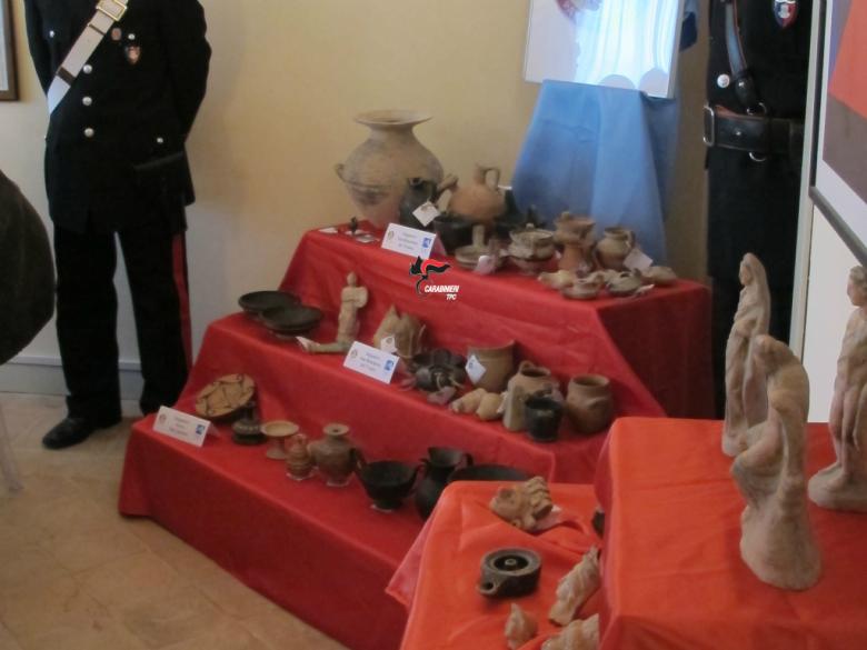 Oggetti sequestrati, 3 febbraio (foto Nucleo Tpc Ancona)