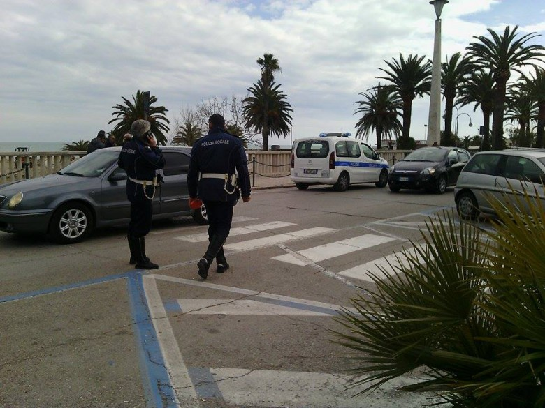 Rilievi della Polizia Municipale, 26 febbraio