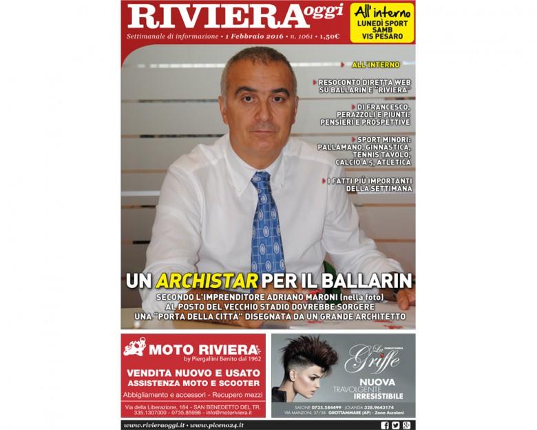 Riviera Oggi numero 1061 in edicola
