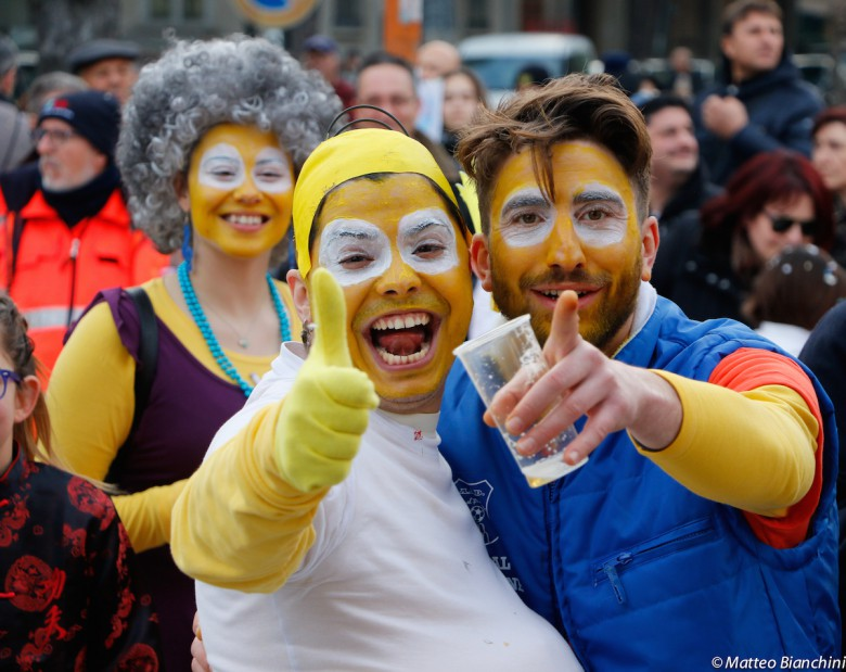Carnevale di Martinsicuro, l'ultima sfilata dei carri
