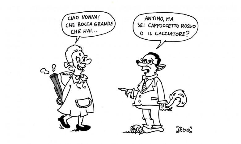 """Antimo Di Francesco, """"cacciatore"""" o """"cappuccetto rosso""""?"""