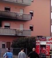 Incendio in un appartamento a Martinsicuro