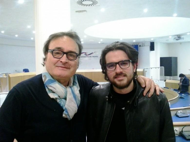 Peppe Giorgini e Emanuele Rosetti