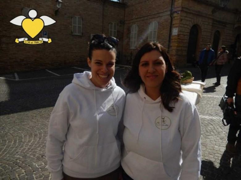 Linda Quinzi e Clelia Spotorno, foto dal blog Cor et Amor
