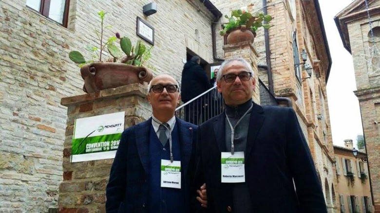 Adriano Maroni e Roberto Marcucci della Menowatt