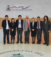 Delegazione cinese in visita nel Piceno