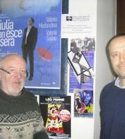 Gabriele Brancatelli con Alceo Lucidi