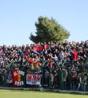 Giulianova-Samb i tifosi della Samb foto bianchini