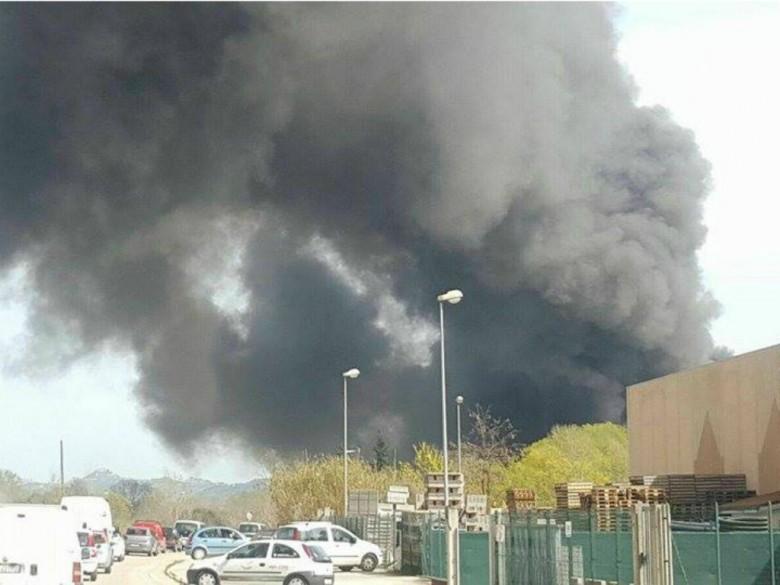 Incendio sulla Bonifica, 29 marzo
