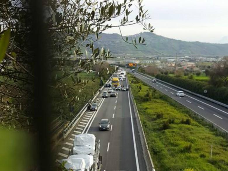 Incidente sull'A14, 29 marzo (foto di Alessandra Amadio)
