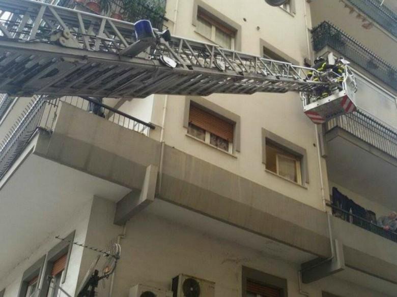 Intervento dei pompieri, 17 marzo