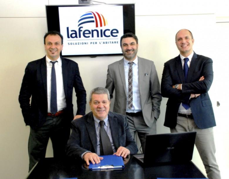La Fenice Massimo, Paolo e Fabio con il padre Tonino Forlì