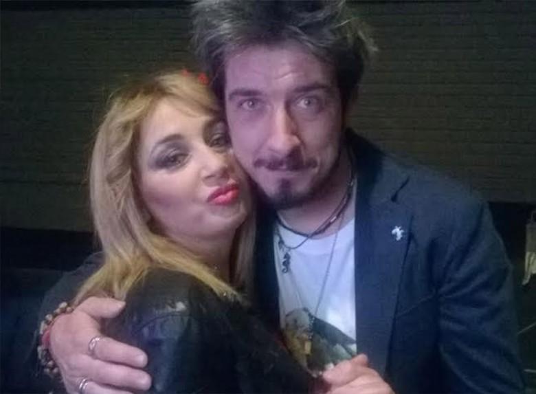 Maria Amato con il giurato di Eccezionale Veramente Paolo Ruffini