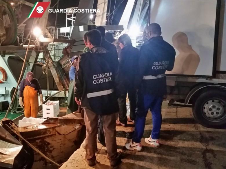 Operazione Dentex (foto Guardia Costiera Ancona)