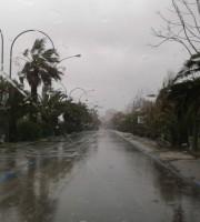 Pioggia (foto di repertorio)