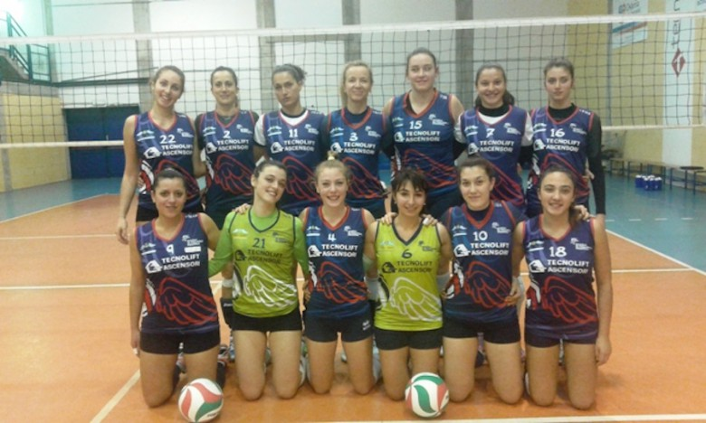 Volley Angels 2016 con sponsor