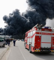 Incendio all'Italpannelli, 29 marzo