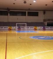 il palasport di Martinsicuro che ospiterà le final 8 di calcio a5 under 21