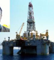 Roberto Lucidi, piattaforma petrolifera