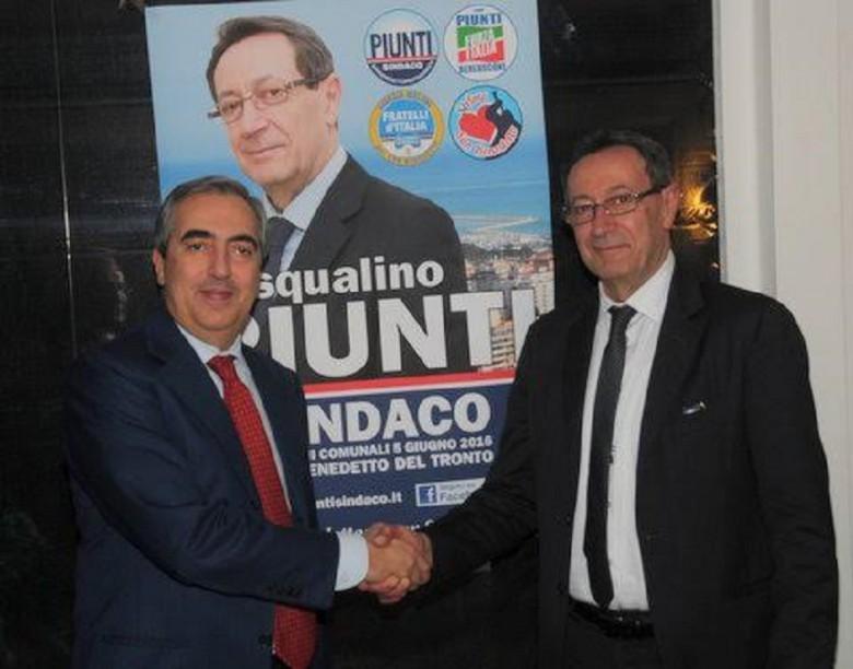 Maurizio Gasparri e Pasqualino Piunti