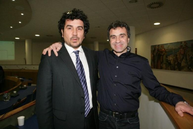 Pino Nico con Marco Lorenzetti