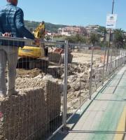 Aprile 2016, lavori in corso sull'Albula 4