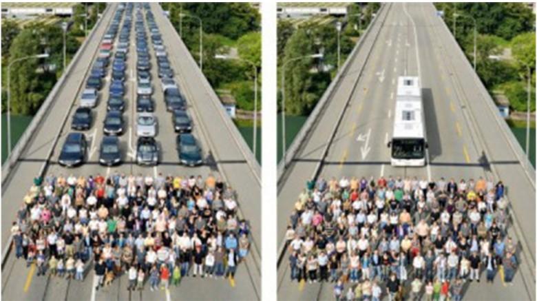 Auto e autobus, differenze
