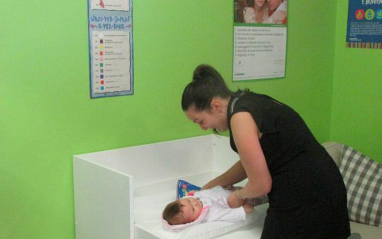 Baby Pit Stop Unicef (foto Comune San Benedetto del Tronto)