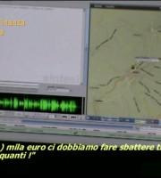 Blitz delle Fiamme Gialle (foto Guardia di Finanza d'Isernia)