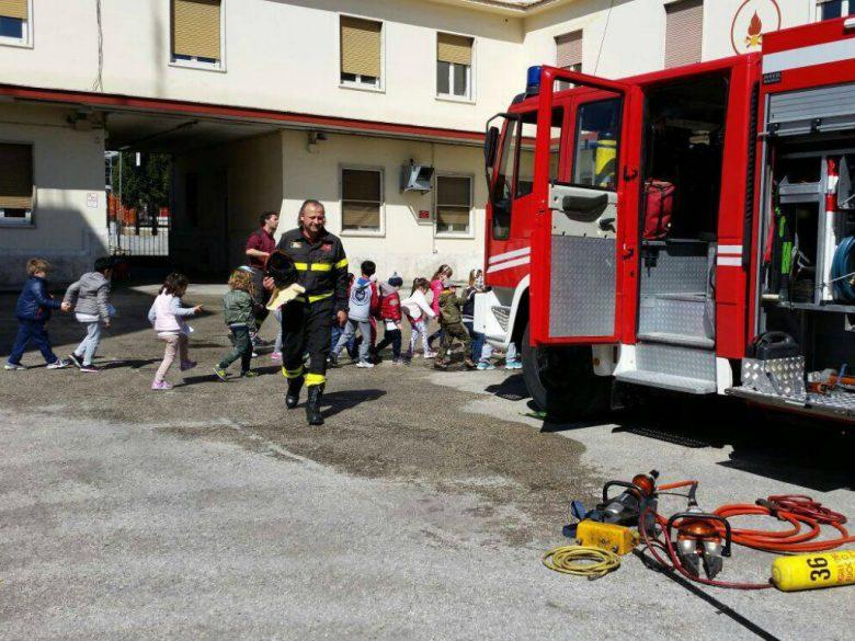 Esercitazione dei Vigili del Fuoco (foto VVF San Benedetto) 2