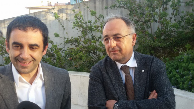 Francesco Comi e Luciano Agostini
